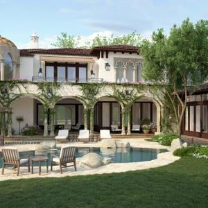 Design the facades of villas and palaces