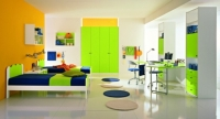 افكار تصميم ديكور  لغرف نوم الأولاد