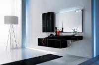 اثات حمامات حديثة بالون الأسود