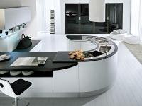 ديكور المطبخ العصري المعاصر ذو التصميم الأنيق