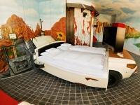 تصاميم لغرف نوم لعشاق السيارات